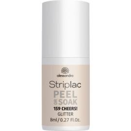 Striplac Peel or Soak 159 Cheers Glitter