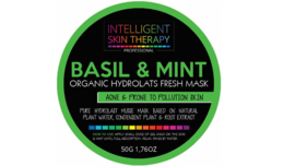 Basil & Mint Organic Hydrolats Fresh Mask