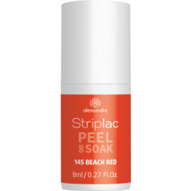 Striplac Peel or Soak 145 Beach Red 8 ml.