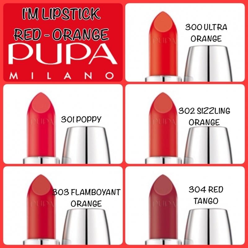 I'M Lipstick Red - Orange