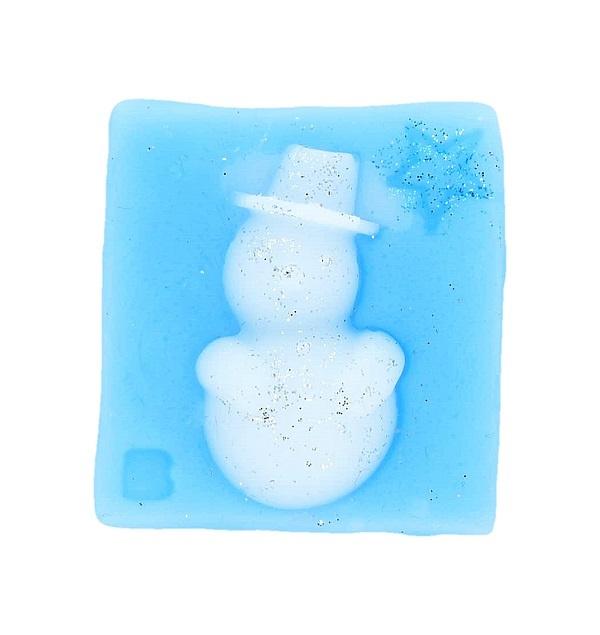 Mr. Snowman Wax Melt Art