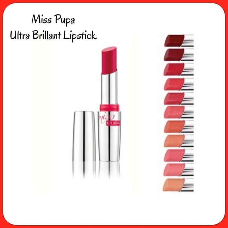 Miss Pupa Ultra Brillant Lipstick