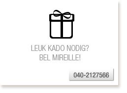 Bel Mireille voor een kado-idee
