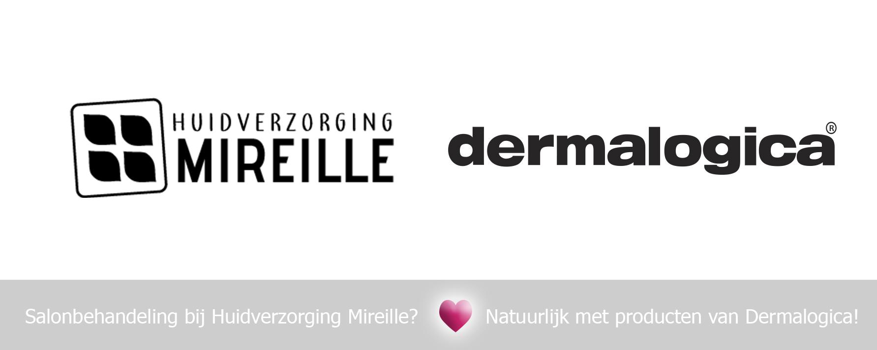 Salon Mireille gebruikt Dermalogica verzorgingsproducten