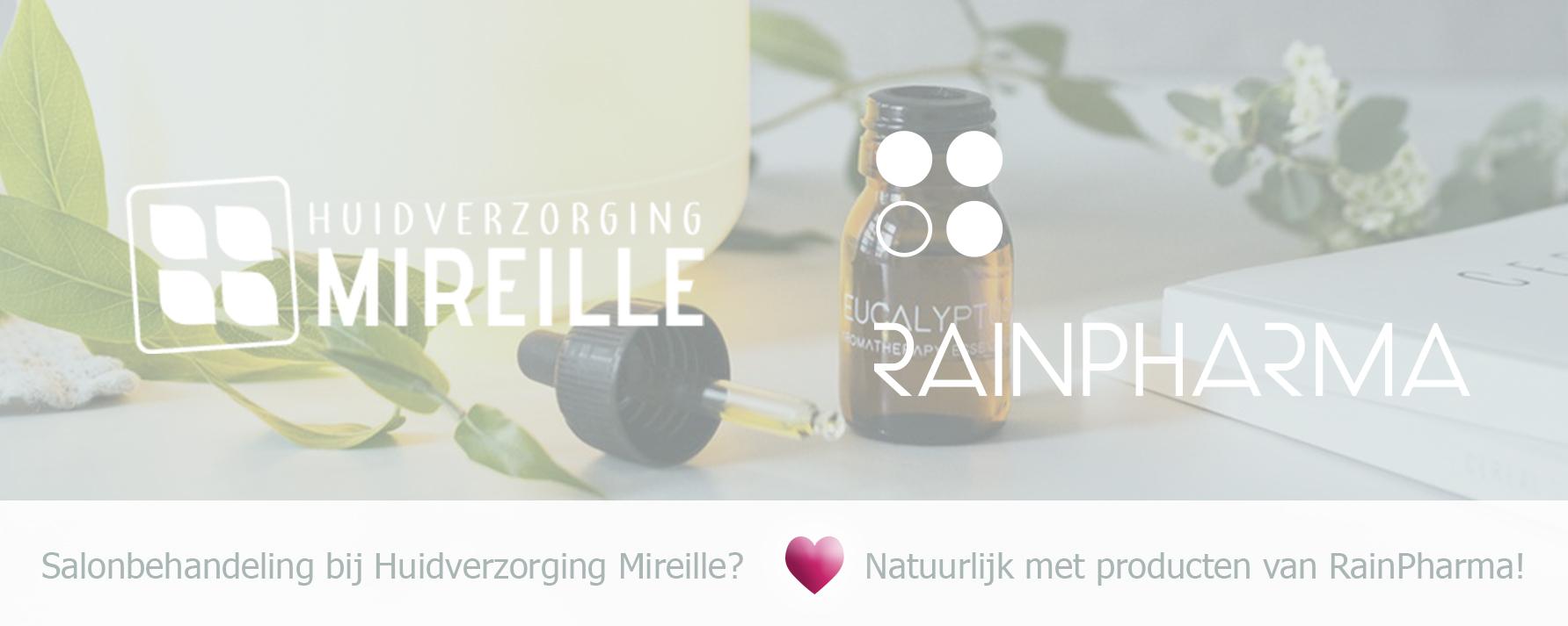 Huidverzorging Mireille loves RainPharma