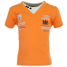 Tom & Jo t-shirt  (oranje) maat 92