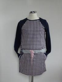 Vinrose jurk  Vero