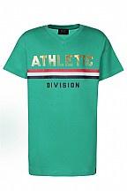 Dxel shirt streep groen