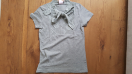 Zero grijs shirt met kant