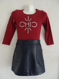 Vinrose shirt chic warm rood