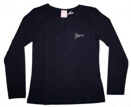 Zero basic shirt / longsleeve donkerblauw