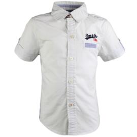 Tom&Jo blouse ( wit) maat 116/122