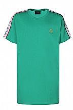 Dxel shirt schouderdetail groen