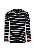 Kids up shirt  streep navy/wit