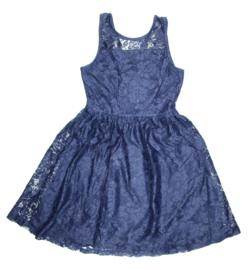 Emoi jurk kant navy maat 152