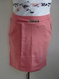 Zero Jeans rokje klassiek met riempje (roze)