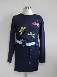 Zero Jeans longsleeve libelle navy (maat 92/98)