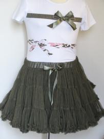 Zero Fantastische petticoat (groen)maat 80/86