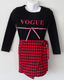 Zero jeans shirt vogue (zwart)