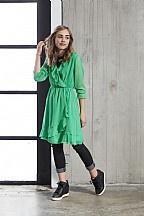 Dxel jurk overslag ( groen)