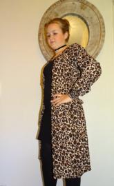 Dxel lange blouse/jurk panter