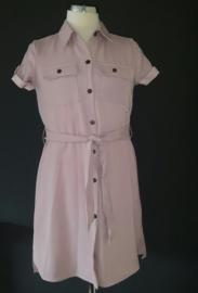 Aubergine jurk
