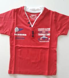 Tom & Jo t-shirt (rood) maat 98
