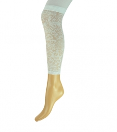 Yellow Moon meisjes legging kant wit