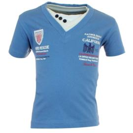 Tom & Jo t-shirt  (blauw) maat 92