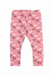 5.10.15 legging dogs roze