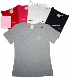 Zero t-shirt effen 6 kleuren