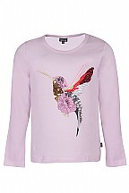 Kids up shirt  kolibri roze