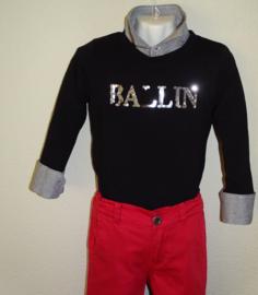 J.Mirano Shirt Ballin Zwart