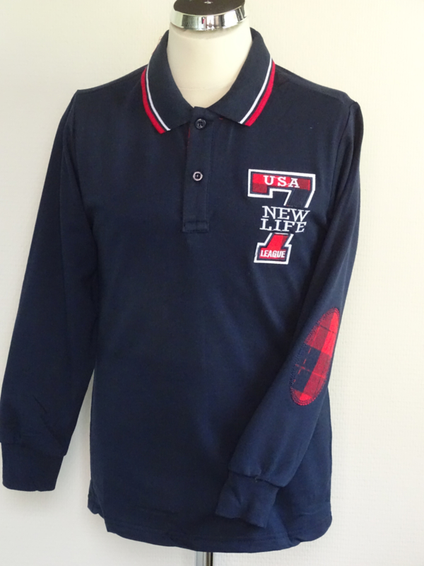 Rugby Seven elbowpadges navy