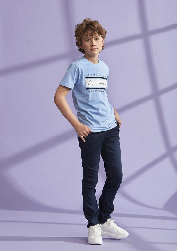 Dxel lichtblauw shirt