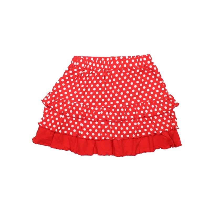 ZieZoo rokje stip rood/wit Maat 104