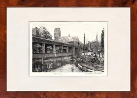 Rotterdam Kolk Aquatint