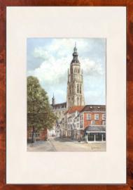 Breda Onze Lieve Vrouwe kerk schilderij