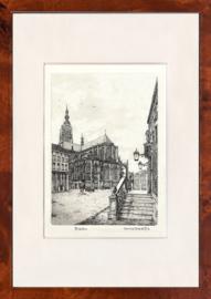 Breda stadhuis  zwart wit