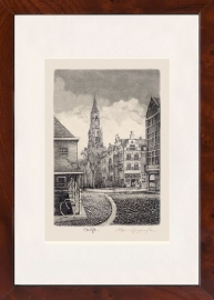 Delft Camaretten Aquatint