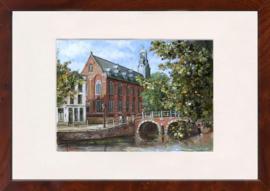 Leiden universiteit schilderij