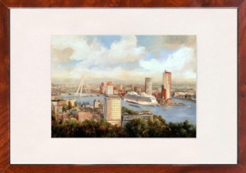 Rotterdam Panorama kop van Zuid HAL kade Hotel new York Carribean princes
