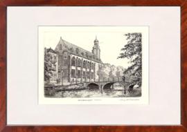 Leiden Universiteit ets zwart wit