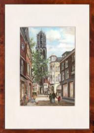 Utrecht Zadelstraat schilderij