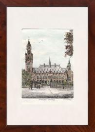 Den Haag Vredespaleis staand