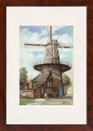Delft Molen de Roos