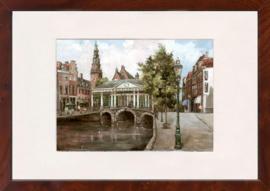 Leiden Korenbeurs schilderij