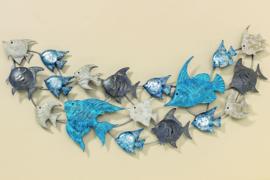 Wandobject met Vissen ( div. kleuren )