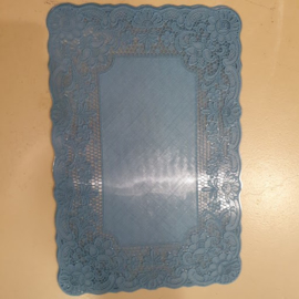 Placemats PVC  HD-collection  Donker ( cobalt ) blauw