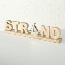 Staand object ( strand )